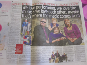 Saturday's Daily Mirror Article by Jilly Beattie.