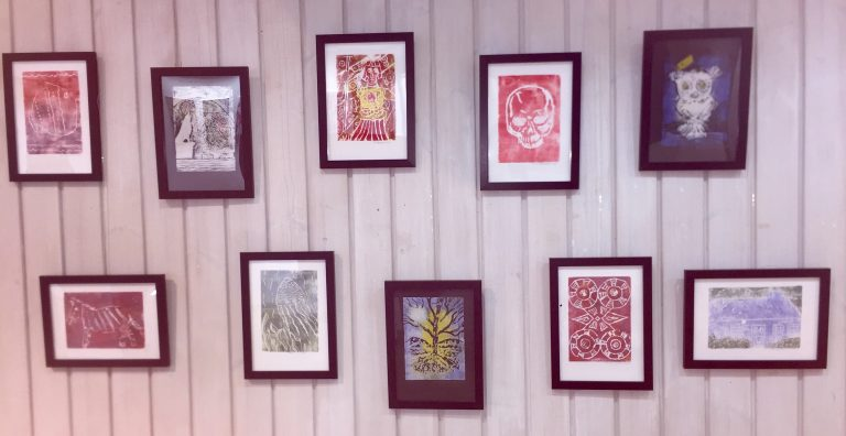Selection of prints displayed at Duncairn March 2020