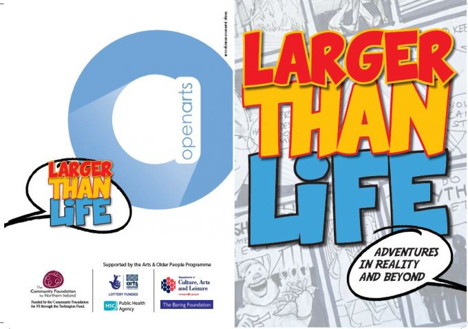Cover of Larger Than Life book.